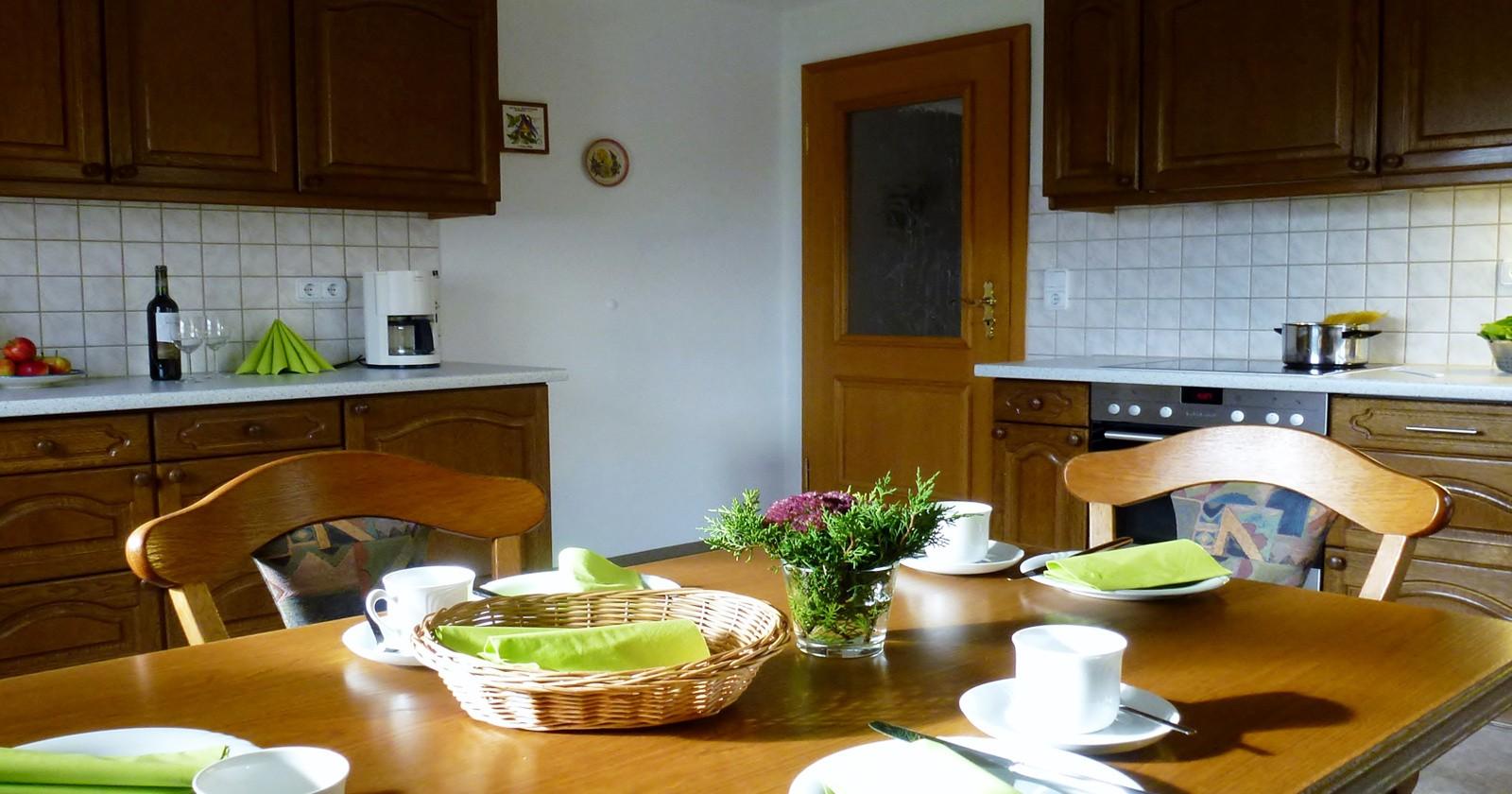 Die Küche Sonthofen   Ferienwohnung Rubihorn Ferienwohnungen Schneider Sonthofen